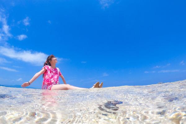 幻の島(浜島)上陸