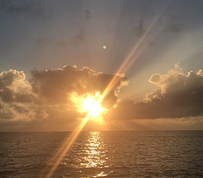 石垣島の夕日(サンセット)